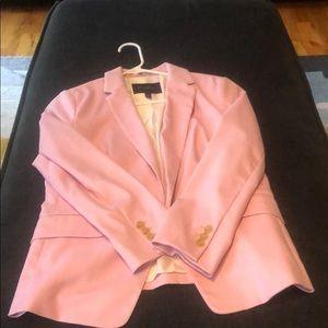 Banana Republic Pink Blazer. Size 10P.